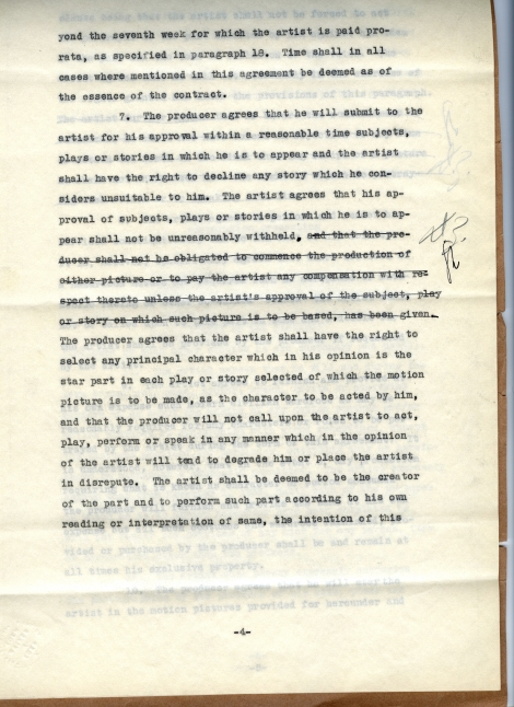 Arliss 20th Cent Contract 4