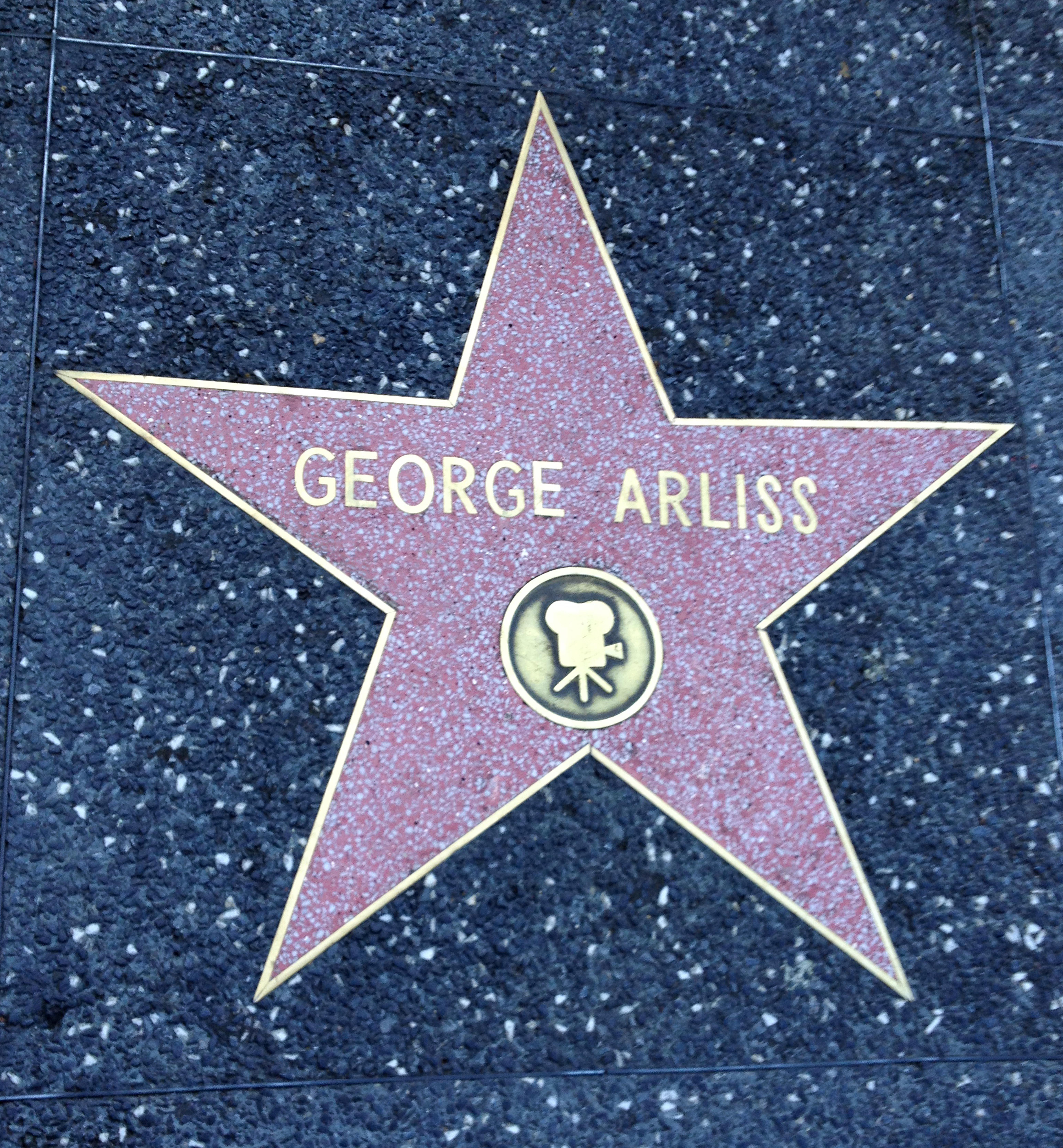 Arliss Star on Walk of Fame LA