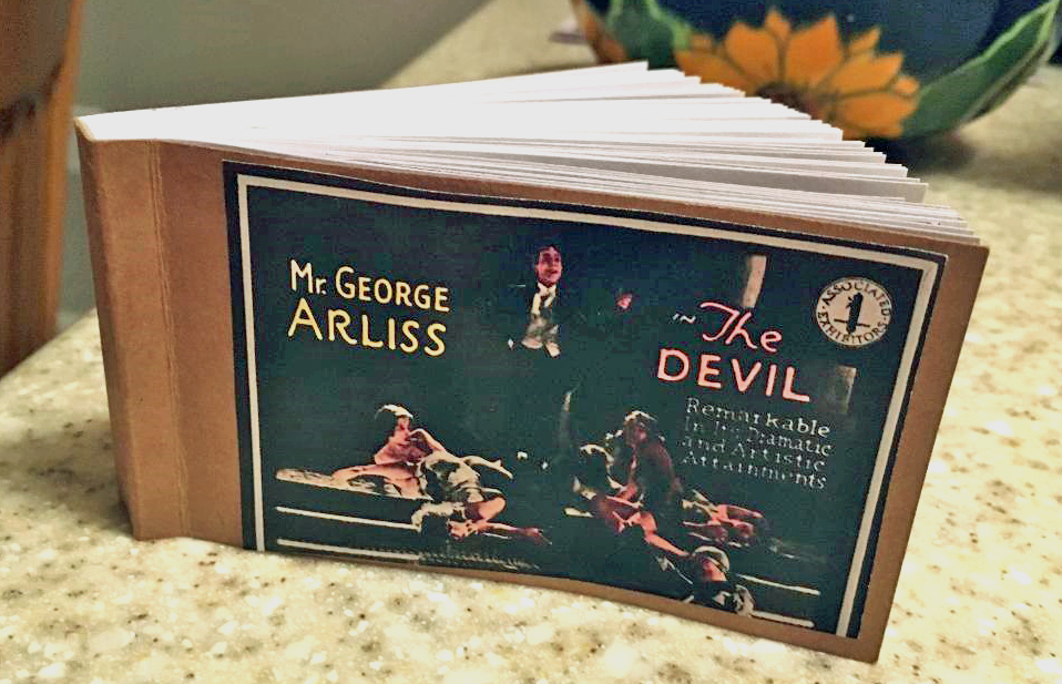 Arliss Devil Flip book