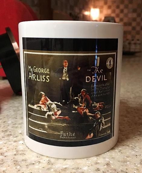 Arliss DEVIL coffee mug