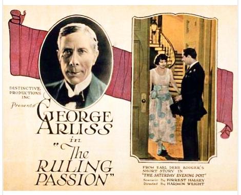 Arliss Ruling Passion 1922